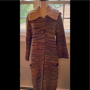 Anthropologie Charlie & Robin Sweater Coat